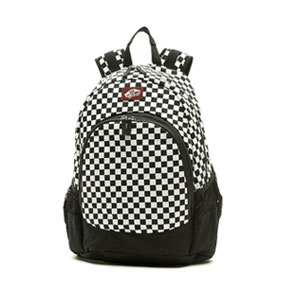 반스 백팩 체크보드 화이트 Vans Van Doren Backpack Checkerboard white VN000C8YY28